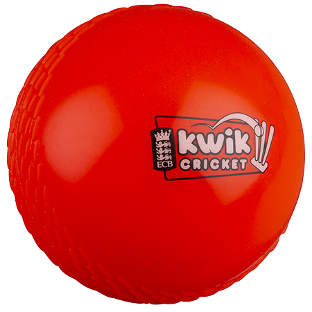 Kwik Cricket Ball - Orange