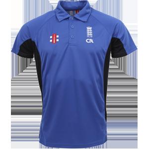 Polo Shirt Olympic Blue / Black