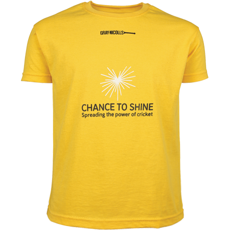 Gray-Nicolls Cricket Yellow Tee Shirt
