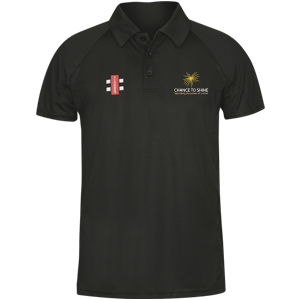 Matrix Polo Shirt Black