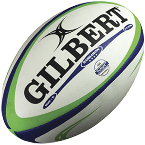 Gilbert Rugby Barbarian Ball Blue / Green