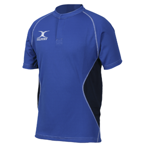 Gilbert Rugby Xact V2 Shirt Royal Navy