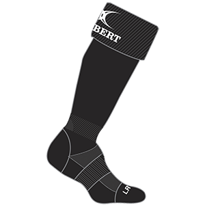Gilbert Rugby Kryten Sock Black