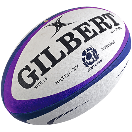 Gilbert Rugby MATCH XV SCOTLAND SZ5 CREATIVE VIEW