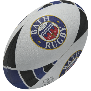 Gilbert Rugby Bath Supporter Ball