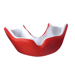 Mouthguard Red / White