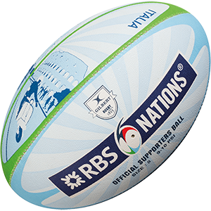 Gilbert Rugby RBS 6 Nat City Supporter Ball
