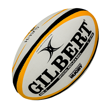 Gilbert Rugby Wasps Replica Ball