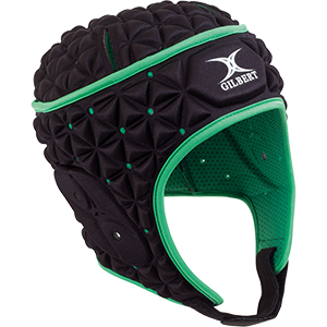 Ignite Black Green Headguard