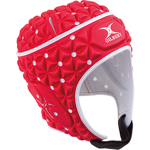 Ignite Red White Headguard