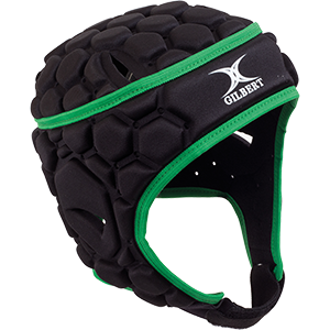 Falcon Black Green Headguard