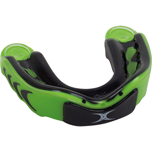 Virtuo 3DY Black Green Mouthguard