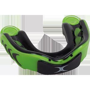 Virtuo 3DY Black Green Mouthguard