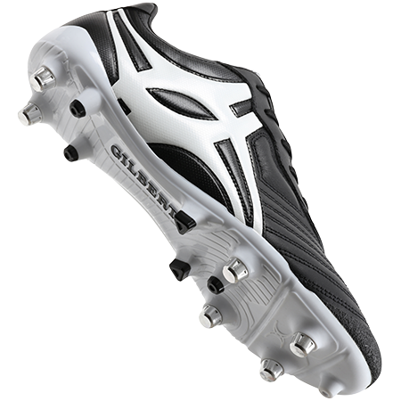 Gilbert Rugby SPRINT BLACK 6S MAIN VIEW