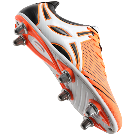 Gilbert Rugby EVO MK2 6S ORANGE MAIN VIEW