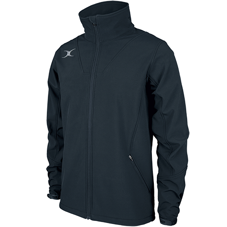 Gilbert Rugby Clothing Pro Shell Full Zip Dark Navy Main
