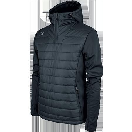 Gilbert Rugby Clothing Pro Shell Quarter Zip Dark Navy Main