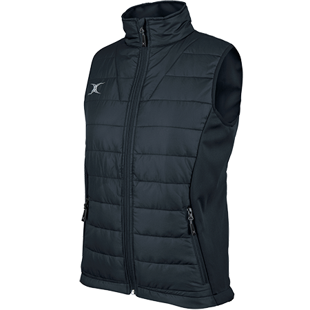 Gilbert Rugby Clothing Pro Bodywarmer Ladies Dark Navy Main