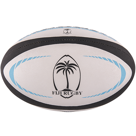 Gilbert Rugby Replica Fiji Size 5 Panel 1