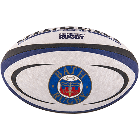 Gilbert Rugby Replica Bath Size 5 Panel 1