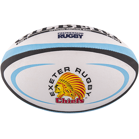 Gilbert Rugby Replica Exeter Size 5 Panel 1