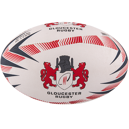 Gilbert Rugby Supporter Gloucester Size 5 Panel 1