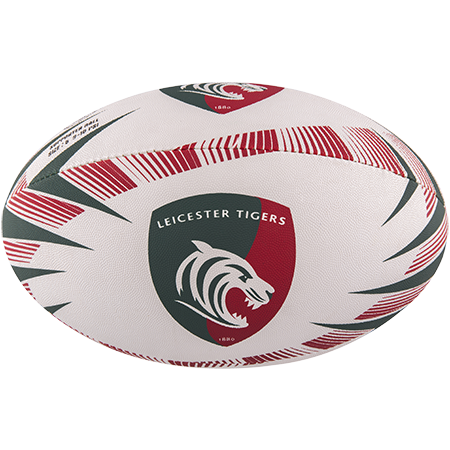 Gilbert Rugby Supporter Leicester Tigers Size 5 Panel 1