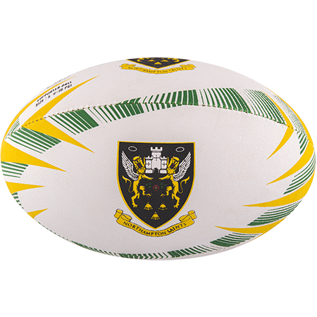 Gilbert Rugby Supporter Northampton Size 5 Panel 1