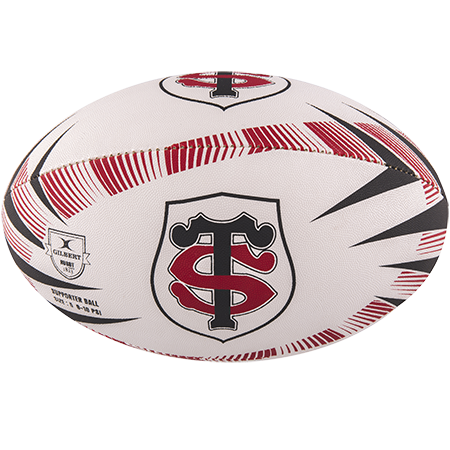 Gilbert Rugby Supporter Stade Toulousain Size 5 Panel 1