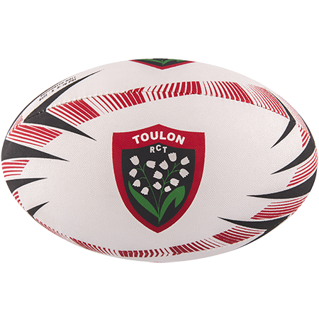 Gilbert Rugby Supporter Toulon Size 5 Panel 1