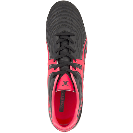 Gilbert Rugby Sidestep V1 Lo 8 Stud Hot Red Top