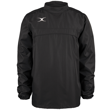 Gilbert Rugby Clothing Photon Mens Warm Up Black Front