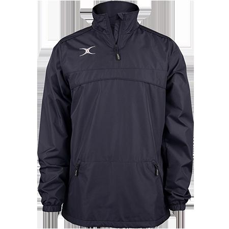 Gilbert Rugby Clothing Photon Mens Quarter Zip Dark Navy Front