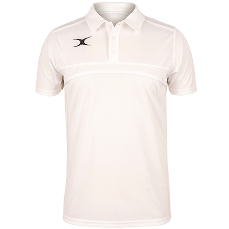 Gilbert Rugby Clothing Photon Mens Polo White Front