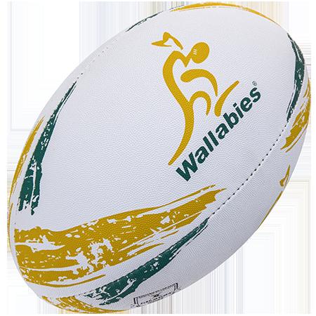 Gilbert Rugby Supporter Australia Sz 5, Creative
