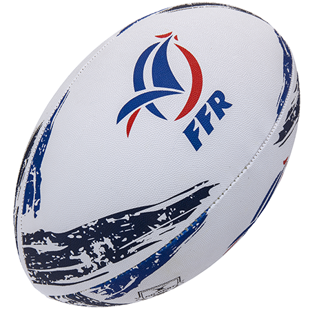 Gilbert Rugby Supporter France Sz 5, Creative