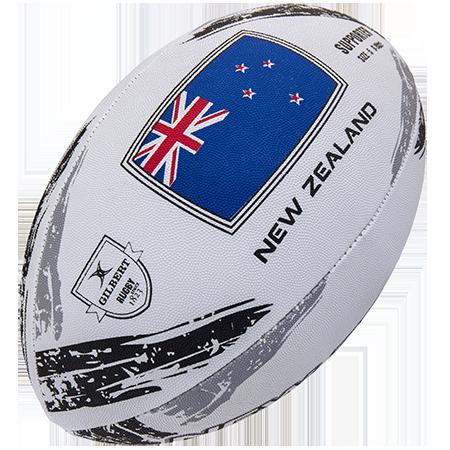 Gilbert Rugby Supporter New Zealand Sz 5, Creative