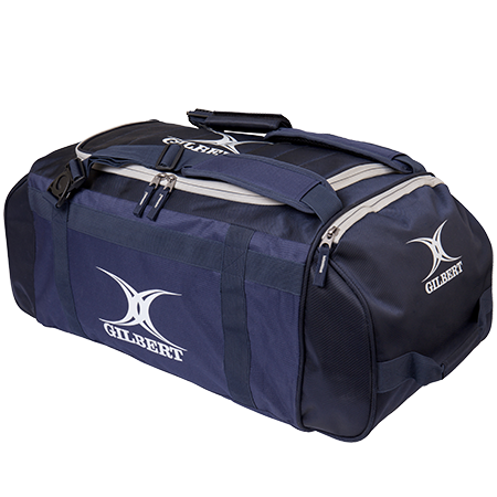 Gilbert Rugby Deluxe Holdall Navy Top End