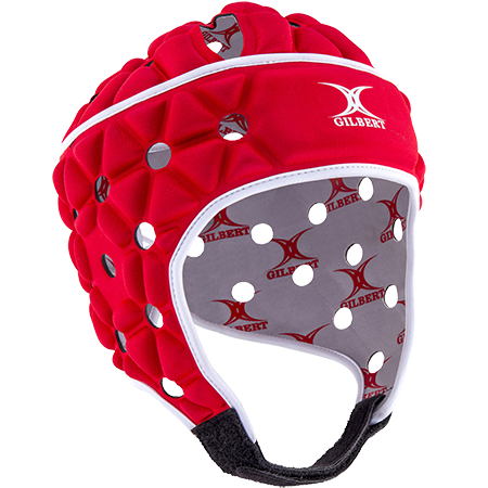 Gilbert Rugby Body armour Air Red Front