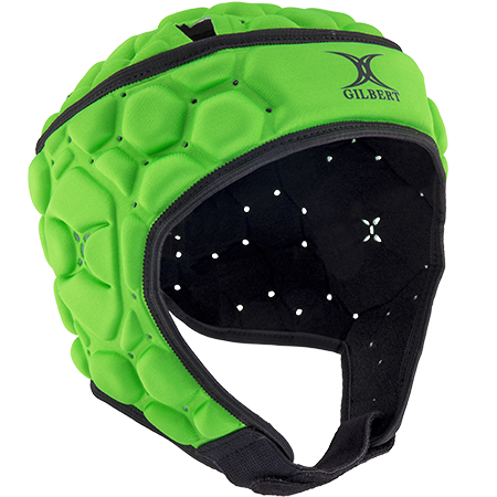 Gilbert Rugby Body armour Falcon 200 Fizz Green Front
