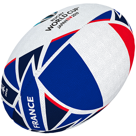 Gilbert Rugby Rwc 2019 Flag France Size 5