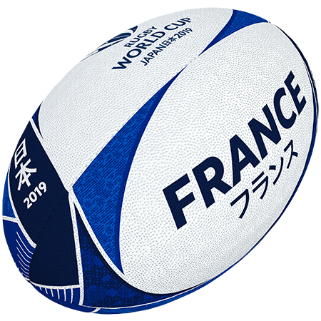 Gilbert Rugby Rwc 2019 Supporter France Size 5