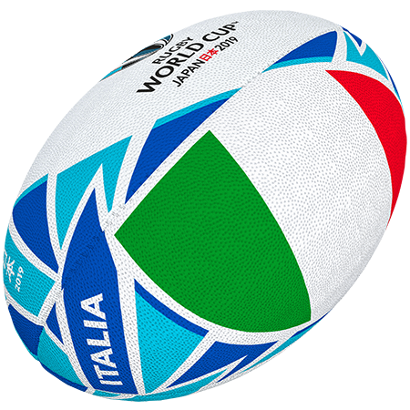 Gilbert Rugby Rwc 2019 Flag Italy Size 5