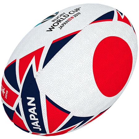 Gilbert Rugby Rwc 2019 Flag Japan Size 5