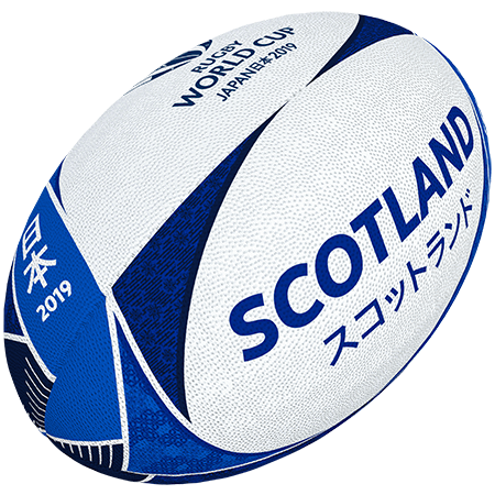 Gilbert Rugby Rwc 2019 Supporter Scotland Size 5